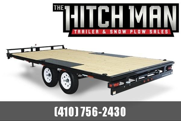 8.5 X 20 Sure-Trac Flat Deck Deckover 10k