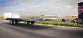8.5 x 22 Aluma Deckover Landscape/Utility Trailer 7K