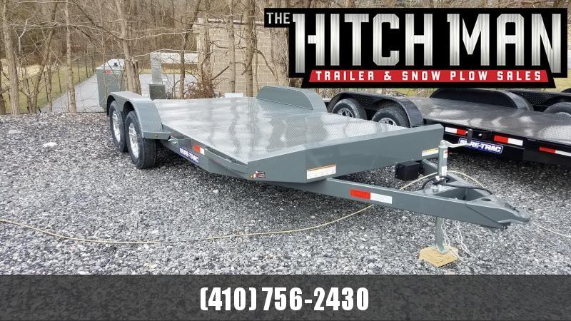 7 x 18 Sure Trac 7k Full Deck Car Hauler