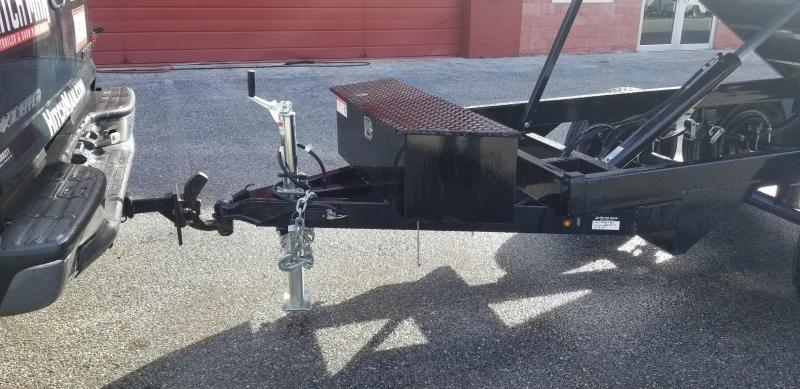 72in x 10 Sure-Trac  Deckover Dump Single Ram 10k