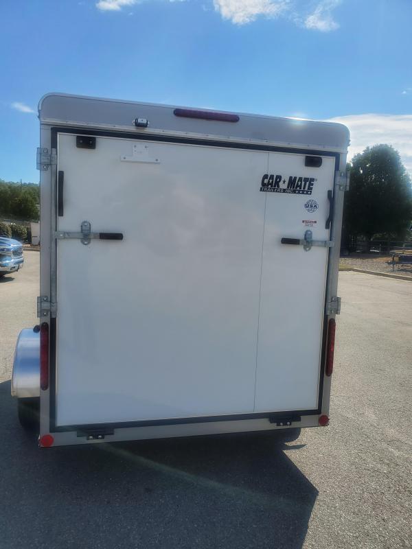 2020 Car Mate Trailers CM610EC Single Axle Enclosed Cargo Trailer
