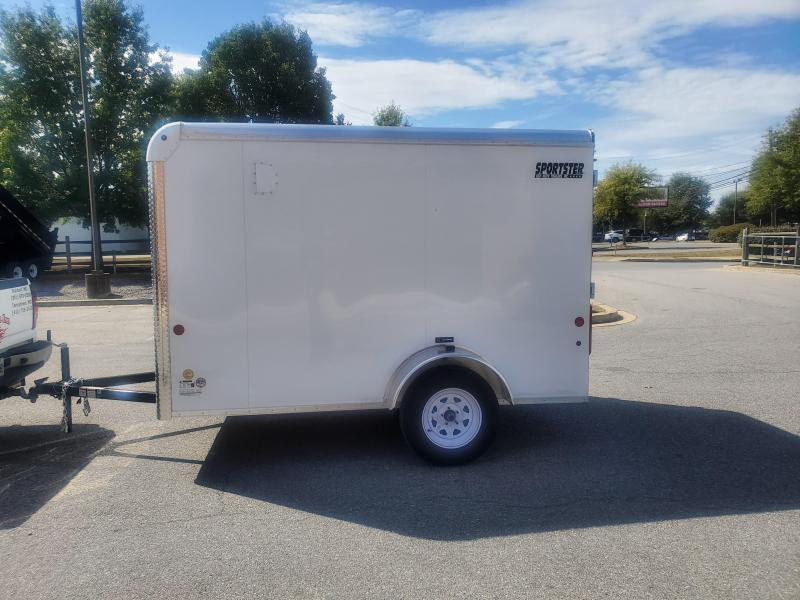 6 x 10 Car-Mate Sportster Enclosed Cargo Trailer 3K