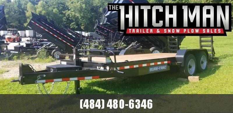 7 x 18 Sure-Trac Equipment Trailer  14k