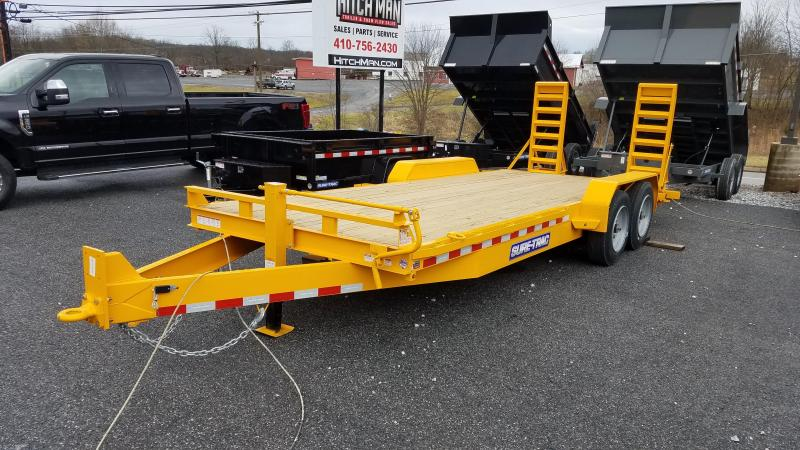 7 x 20 Sure-Trac Implement Trailer 16K