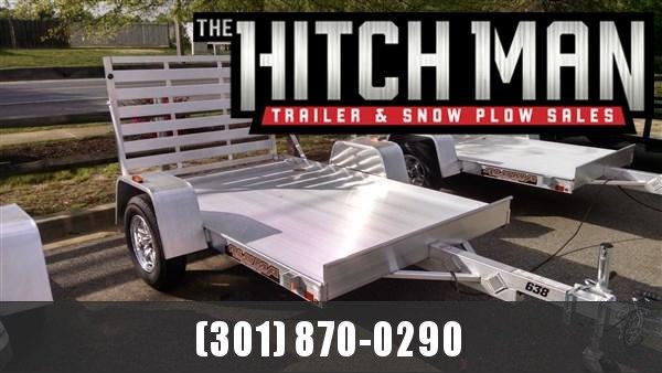 "Aluma 638 (5'3"" x 8) 2k Aluminum Utility Trailer"