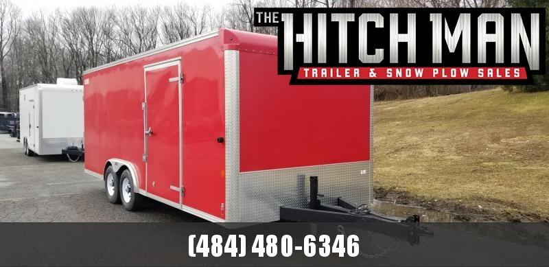 8 x 20 Car-Mate Commercial Landscaper Cargo 10k