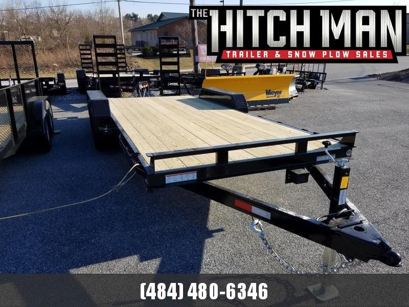 Sure-Trac 7 x 18 Implement Equipment Trailer 10K