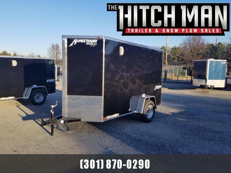 5 x 10 Homesteader Intrepid V-Nose Cargo Trailer 3k