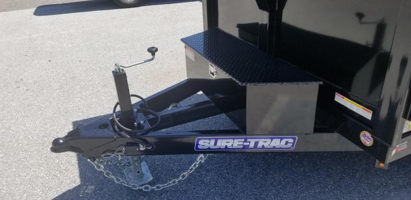 Sure-Trac 82in x12 LProfile Dual Ram Dump 12k