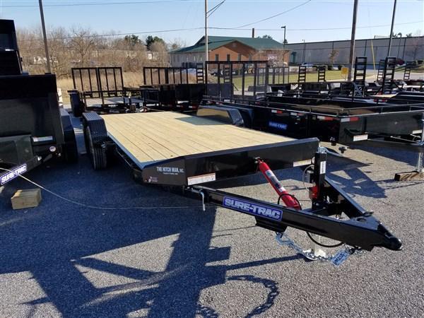 7 x 20 Sure Trac 10k Tilt Bed Car Hauler