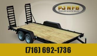 "2020 Quality Trailers 82"" x 16' Tandem Axle Economy Series Equipment 10K Equipment Trailer"