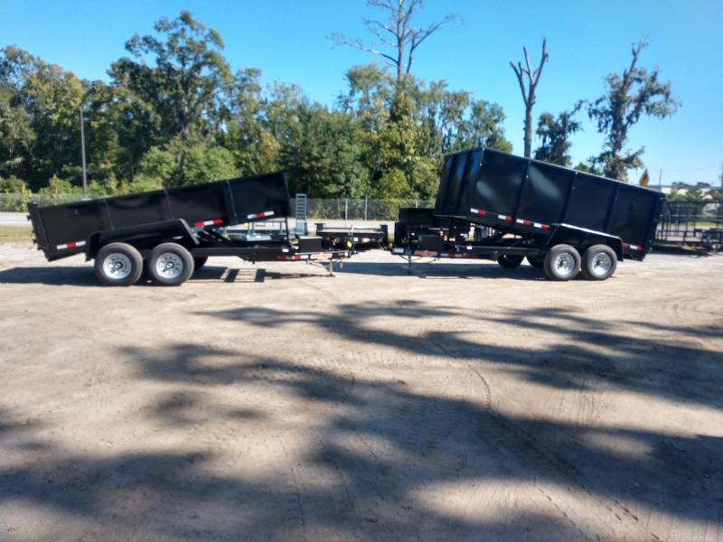 2019 Down 2 Earth Trailers dte716dt7b Dump Trailer
