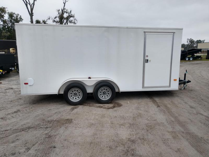 2020 Covered Wagon Trailers cw7x12sa Enclosed Cargo Trailer
