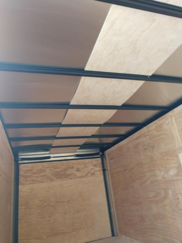 2019 Covered Wagon Trailers cw7x16ta2 Enclosed Cargo Trailer