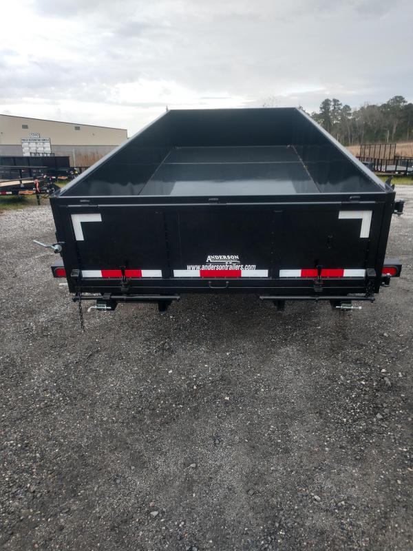 2019 Anderson Manufacturing d714tlp Dump Trailer