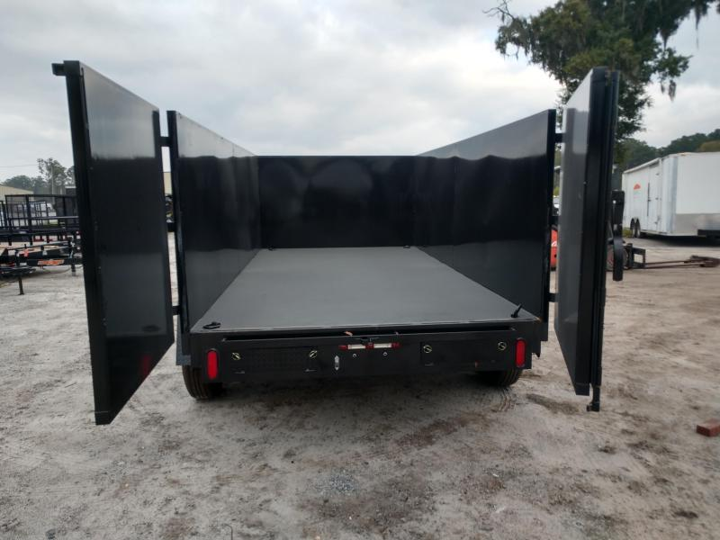 2019 Down 2 Earth Trailers dte74dt7b Dump Trailer