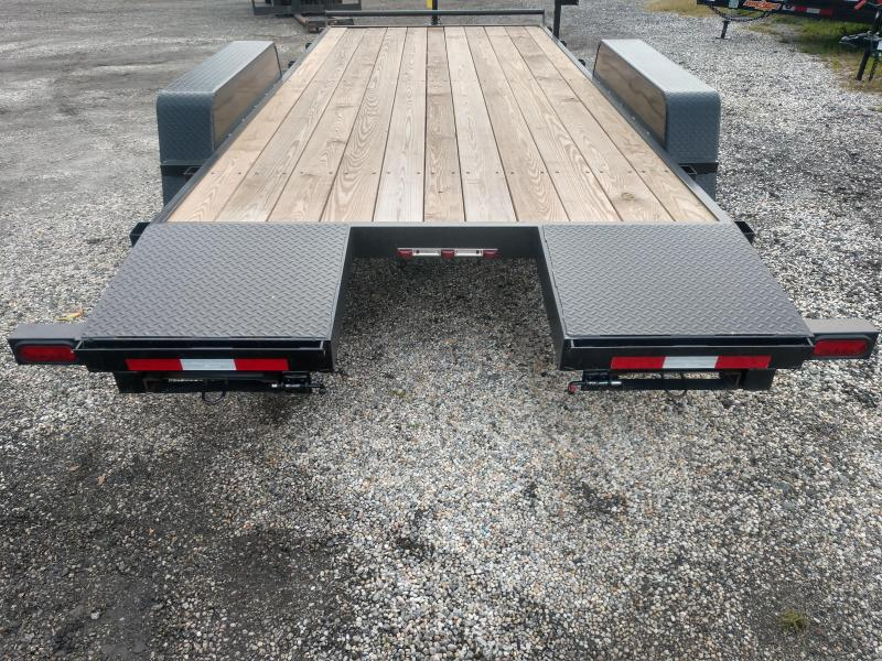 2019 Down 2 Earth Trailers dte8218wch3.5b Car / Racing Trailer