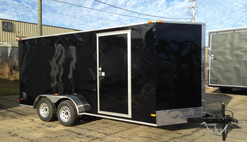 2020 Covered Wagon Trailers Silver Strike 7 x 14 TA Enclosed Cargo Trailer