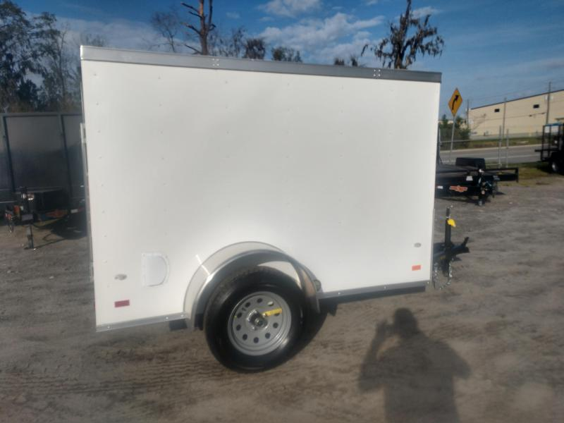 2020 Covered Wagon Trailers cw5x8sa Enclosed Cargo Trailer