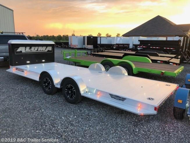 New 2020 Aluma 20' Aluminum Car Hauler Split Axle