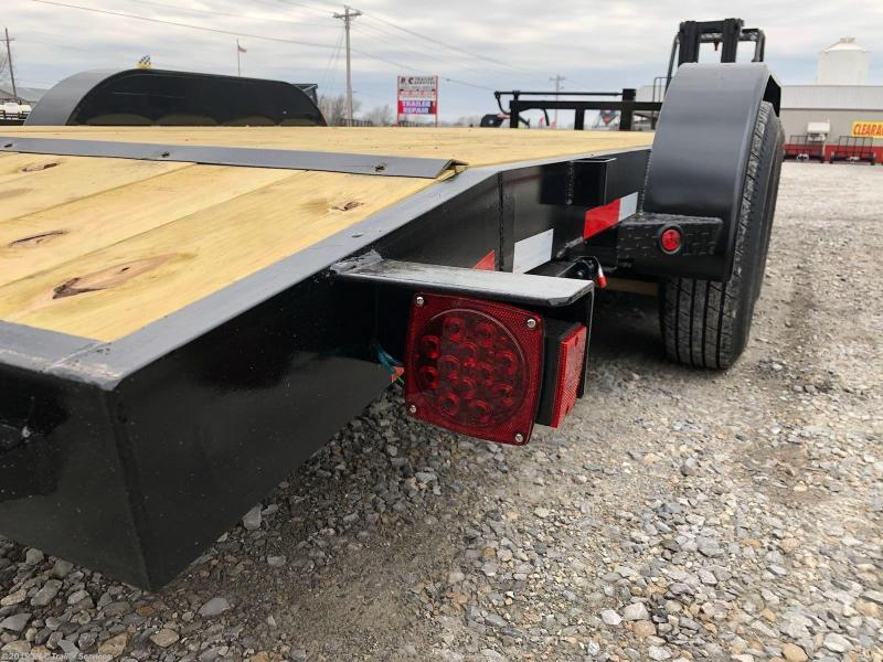 """ON SALE AT COST!! 1 IN STOCK.  New 2019 Longhorn Trailers 83""""X20' Equipment / Car Hauler 7000# Axles"""