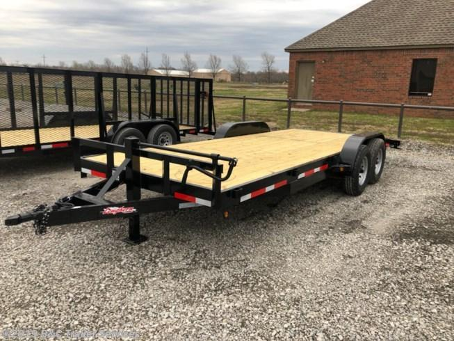 "ON SALE AT COST!! 1 IN STOCK.  New 2019 Longhorn Trailers 83""X20' Equipment / Car Hauler 7000# Axles"