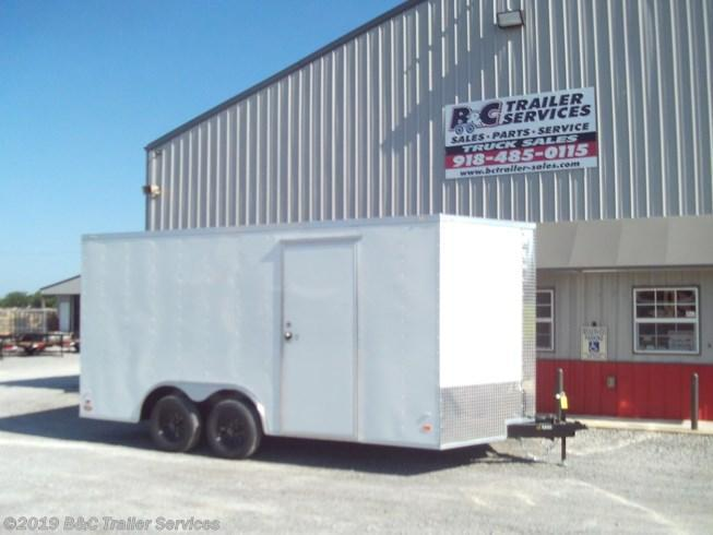 New 2019 Covered Wagon 8.5X18 ENCLOSED CARGO TRAILER 3500 AXLES