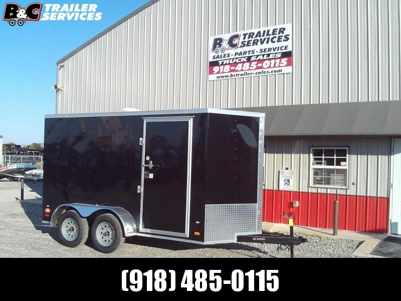 2019 Covered Wagon Trailers 6X14 TANDEM AXLE Enclosed Cargo Trailer