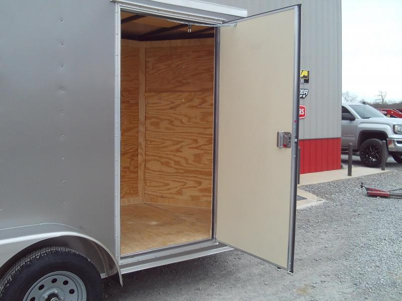 2020 Covered Wagon Trailers 6X14 TANDEM AXLE Enclosed Cargo Trailer