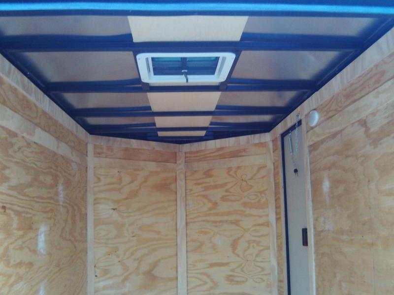 2019 Covered Wagon Trailers 5X10 SINGLE AXLE Enclosed Cargo Trailer