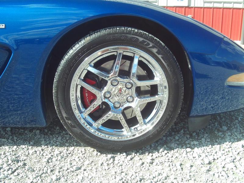 2002 Chevrolet SUPERCHARGED Lingenfelter ZO6 Corvette 2 door coupe Car