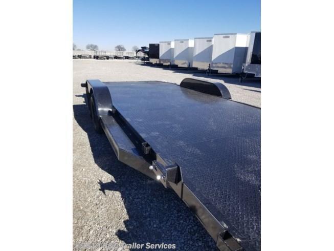 "New 2019 Top Hat 83""X20' All Steel Car Hauler 3500# Axles"