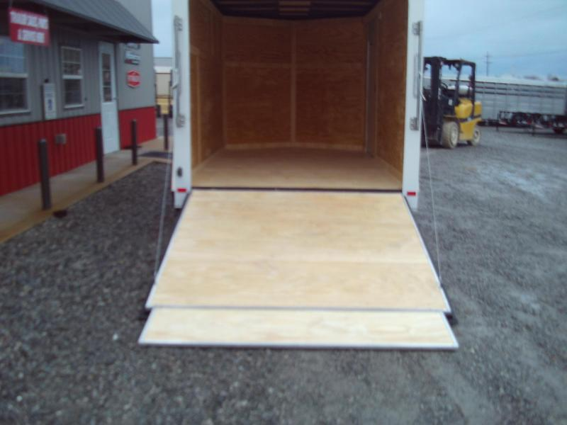 New 2020 Covered Wagon 7X14 ENCLOSED CARGO TRAILER 3500