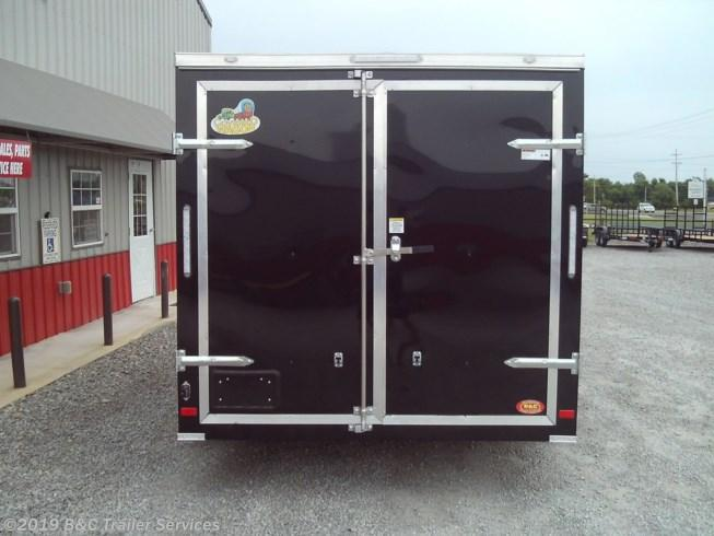 New 2019 Covered Wagon 7X14 ENCLOSED CARGO TRAILER 3500 AXLE w/ BARN DOORS