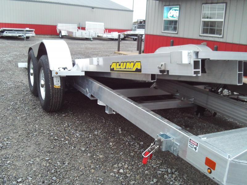 2020 Aluma 8220 20X83 TILT Car / Racing Trailer