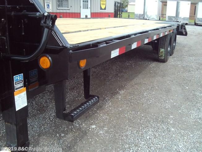 New 2020 PJ Trailers 25' Low Pro Flatbed w/Duals 8K Axles