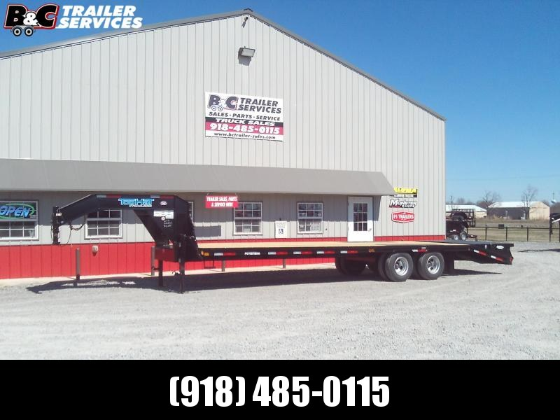 2020 Top Hat Trailers 25+5x102 GN 240 Equipment Trailer