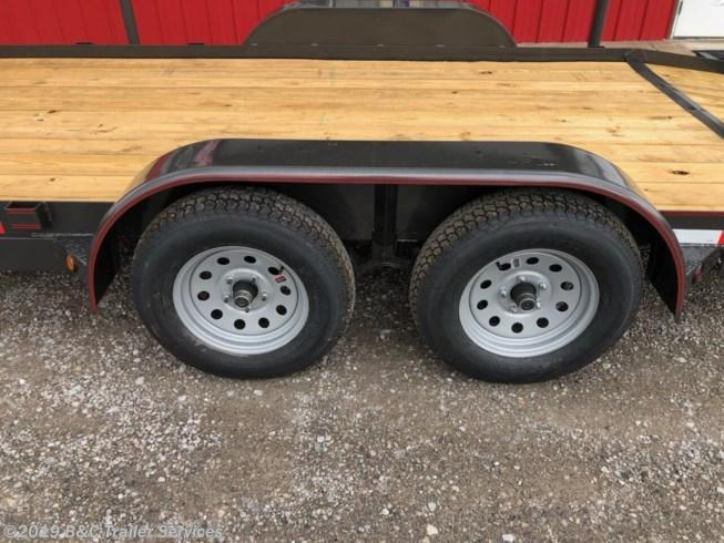 "ON SALE! Longhorn Trailers 83""X16' Wood Car Hauler 3500# Axles"
