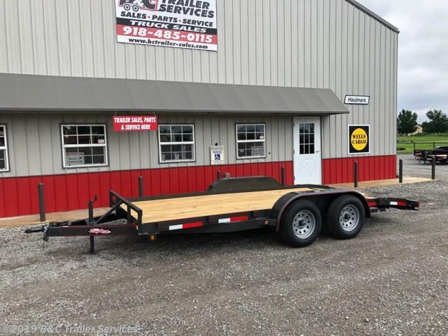 "New 2019 Longhorn Trailers 83""X16' Wood Car Hauler 3500# Axles"