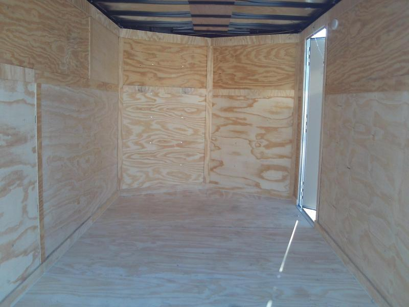 2020 Covered Wagon Trailers 7X14 TANDEM AXLE Enclosed Cargo Trailer