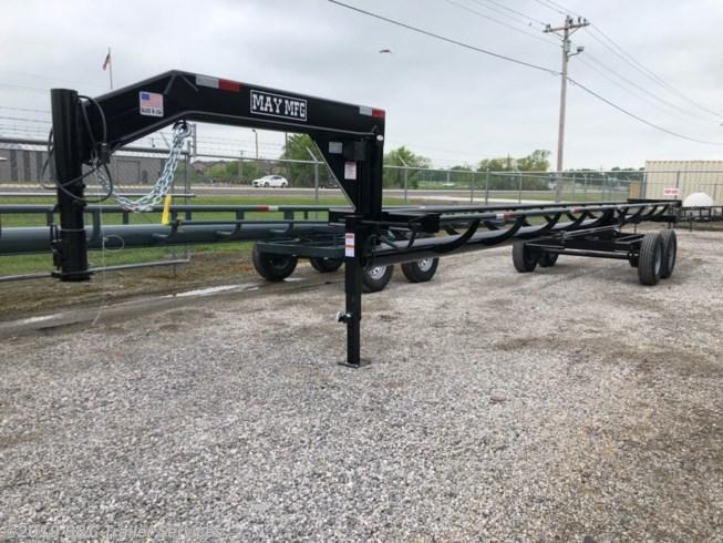 New 2019 May Trailer 32' Single Dump Hay Trailer 7K Axles