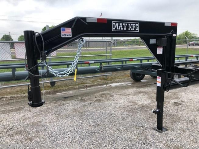New 2019 May Trailer 32' Single Dump Hay Trailer 7K Axles