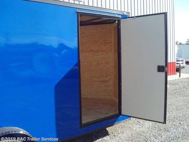 New 2020 Covered Wagon 7X18 ENCLOSED CARGO TRAILER 3500 AXLES