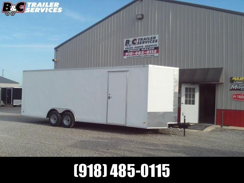 2020 Covered Wagon Trailers 8.5c26 V-NOSE Enclosed Cargo Trailer W\ 5200#AXLES