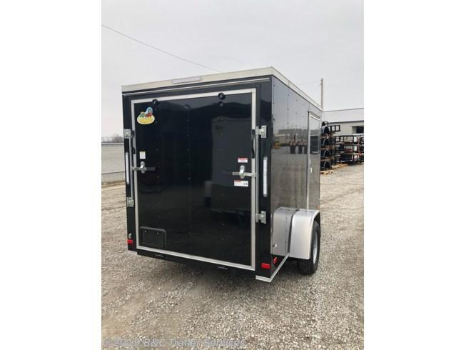 New 2019 Covered Wagon 6X12 ENCLOSED CARGO TRAILER 3500 AXLE