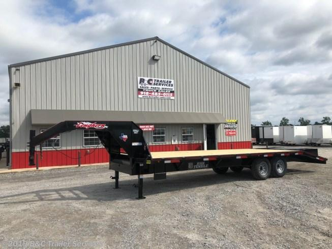 New 2019 Longhorn Trailers 8.5X20+5 Gooseneck Flatbed Trailer 7000# Axles