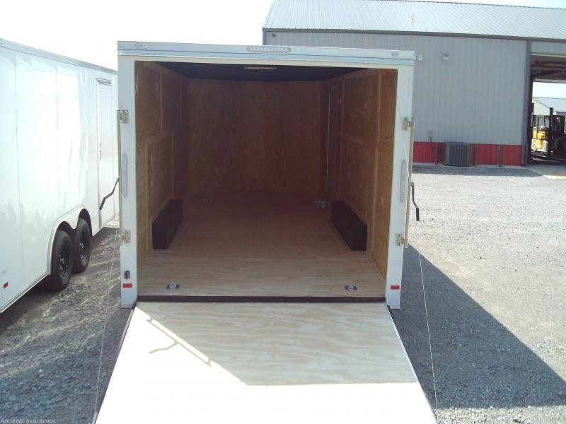 New 2020 Covered Wagon 8.5X22 ENCLOSED CARGO TRAILER 3500 AXLES
