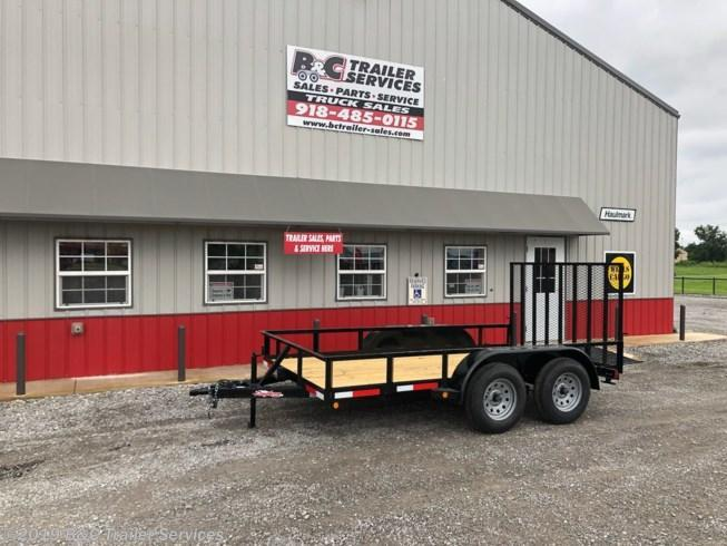 "New 2019 Longhorn Trailers 77""X12' Tandem Axle Utility Trailer 3500# Axles"