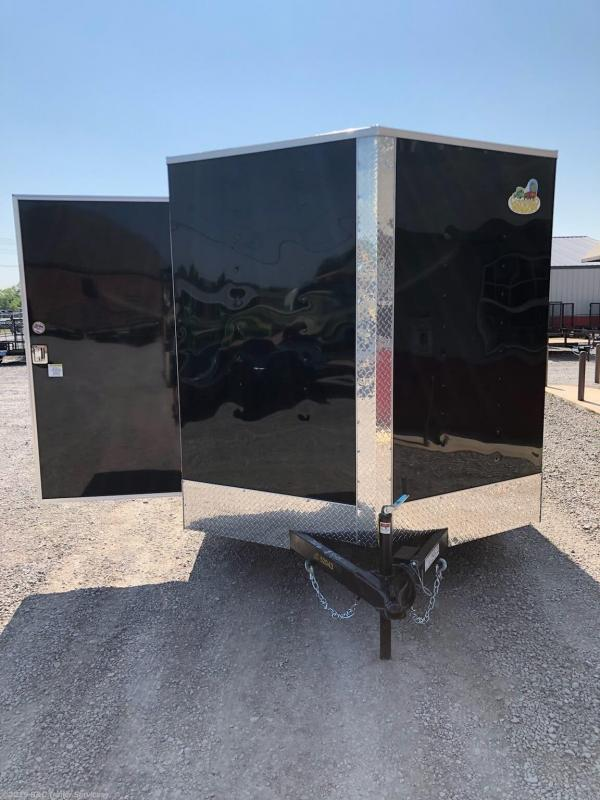 New 2019 Covered Wagon 7X16 ENCLOSED CARGO TRAILER 3500 AXLES