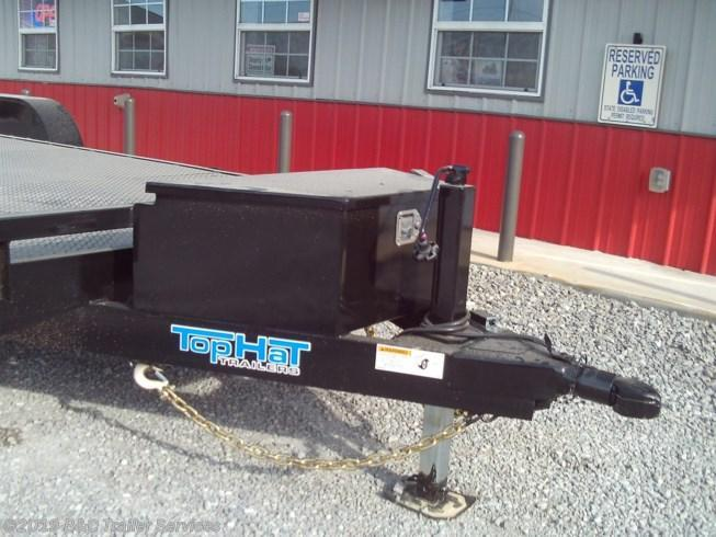 "New 2020 Top Hat 83""X20' Steel Floor Car Hauler 5200# Axles"